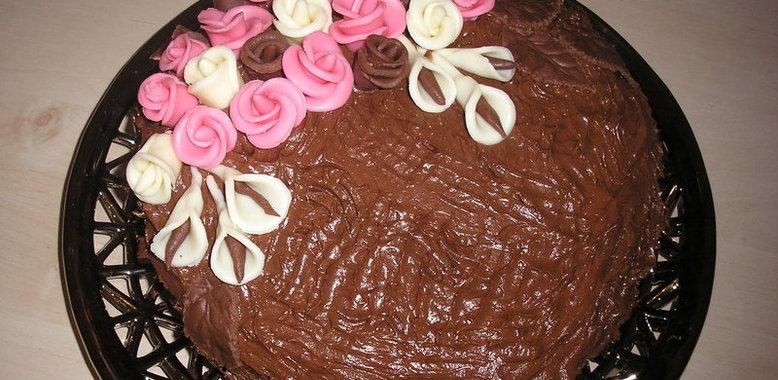 Торты на день рождения маме своими руками рецепты с простые и вкусные