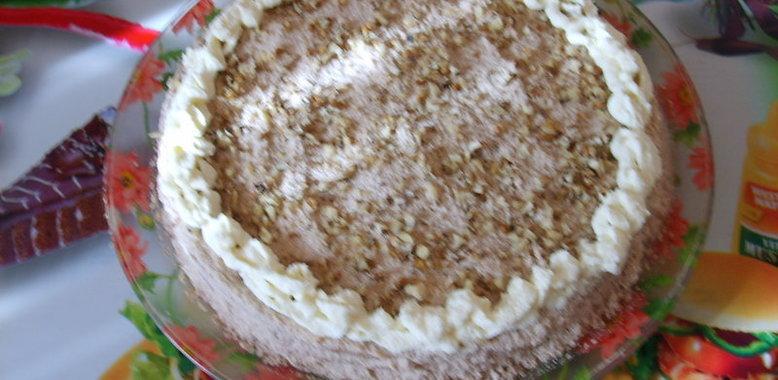 Пражский торт пошаговый с
