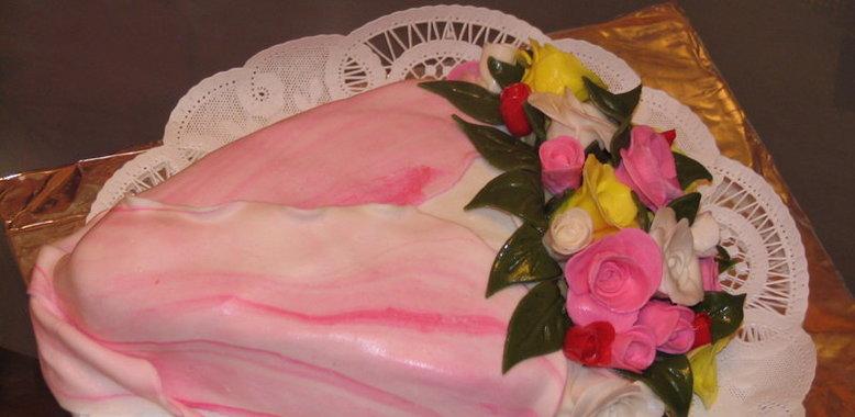 Торт букет с пошаговым