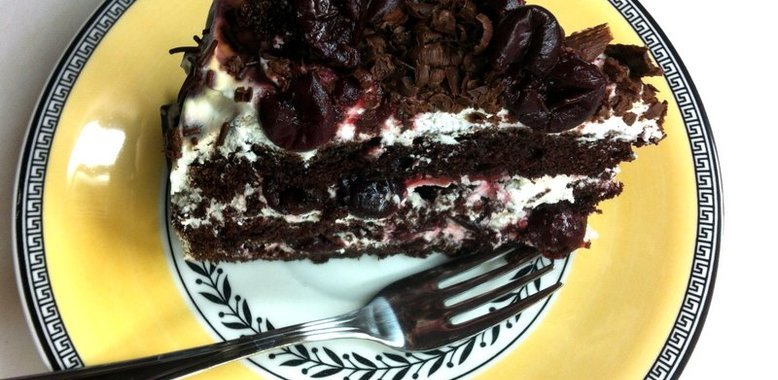 Рецепт чёрный лес торт рецепт