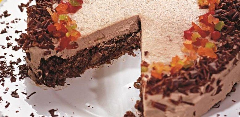 Торт три шоколада бисквитный пошаговый рецепт