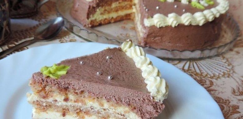 торт лакомка рецепт с фото