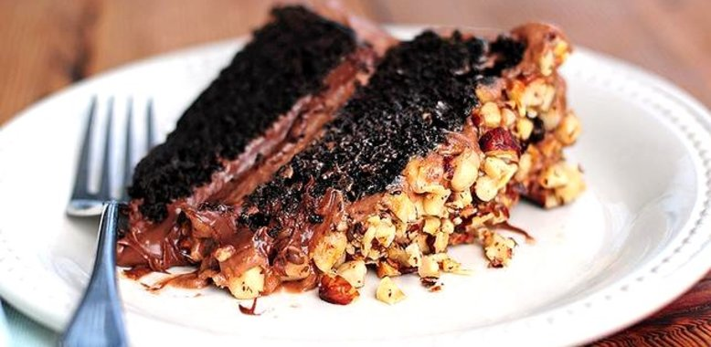 Шоколадный пирог простой рецепт с фото