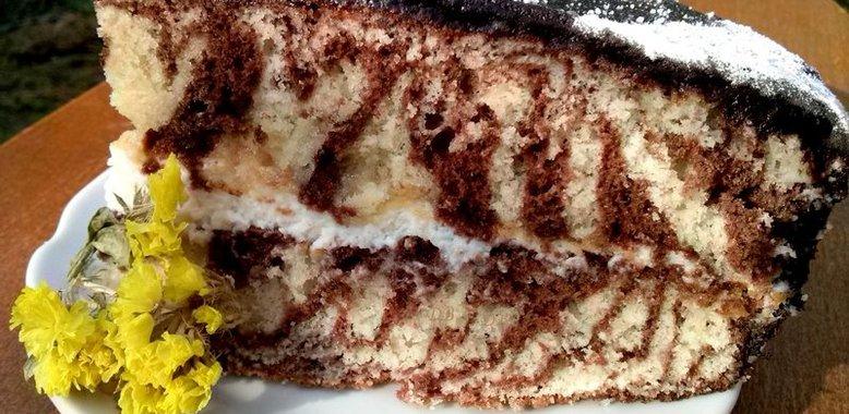 Торт зебра в мультиварке рецепты пошагово
