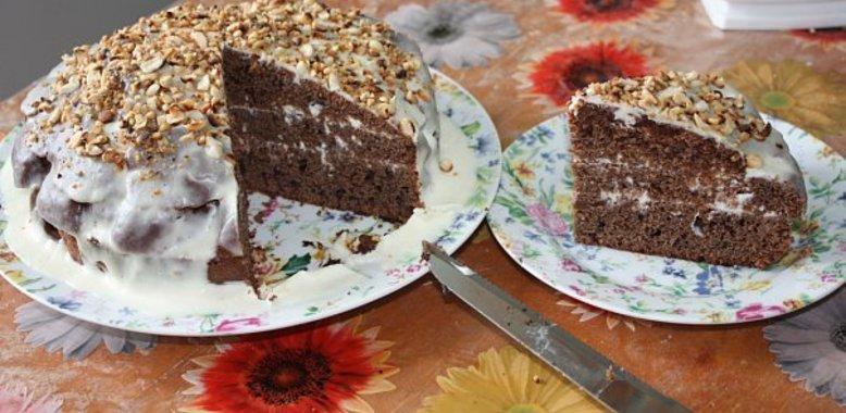 Сочный торт рецепт с пошагово