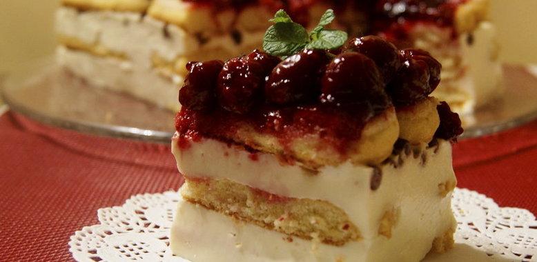 Торт зимняя вишня рецепт с пошагово в домашних условиях
