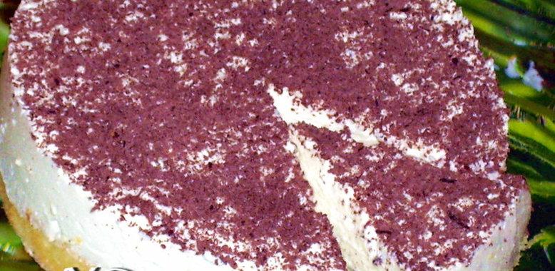 Шоколадно ванильный торт рецепт с фото