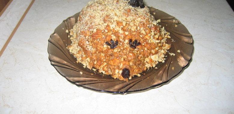 Торт ежик рецепт с фото пошагово