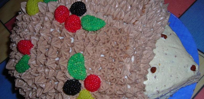 Торт ежик рецепт с фото пошагово в домашних условиях