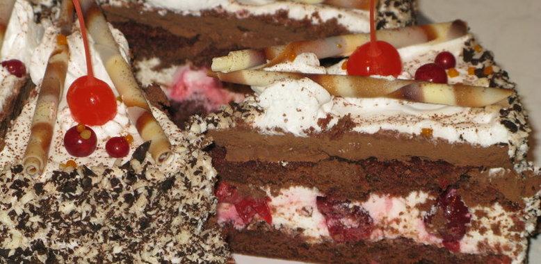Торт шварцвальд рецепт с фото пошагово