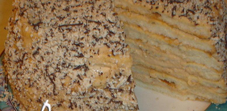 Рецепт простых тортов со сметаной