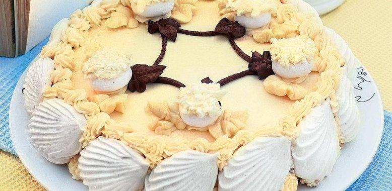 Торт полет рецепт с фото пошагово