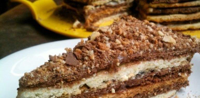 Новинка торт пошаговый рецепт