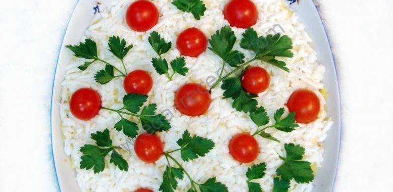 Салат торт рецепт с пошагово