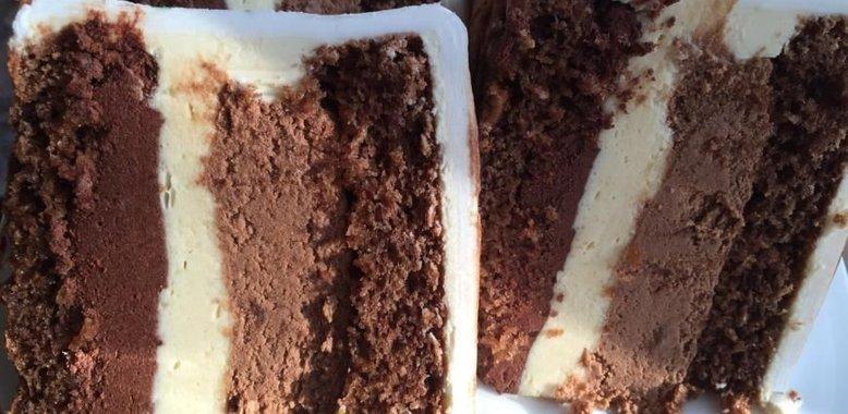Три шоколада торт пошагово рецепт
