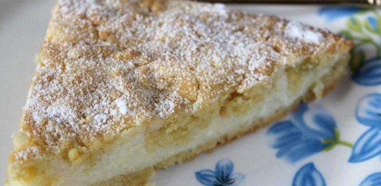 Пирог с вареньем из творога рецепт с пошагово