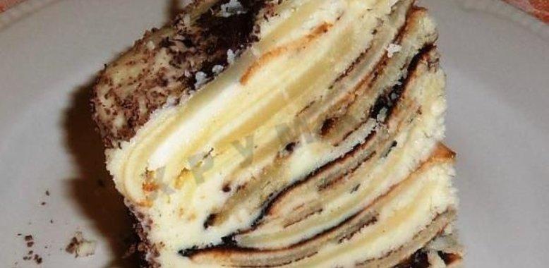 Торт полено в домашних условиях 931
