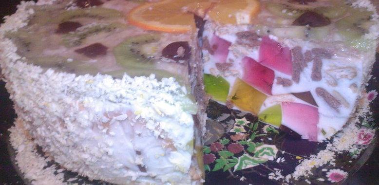 Торт стекло видео рецепт c фотографиями