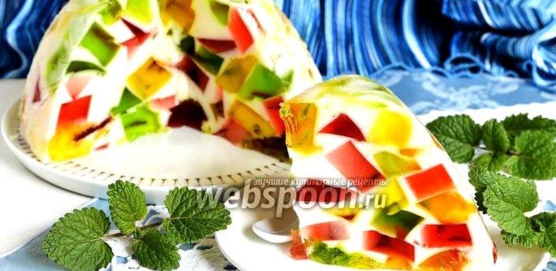 Рецепт торт битое стекло со сметаной
