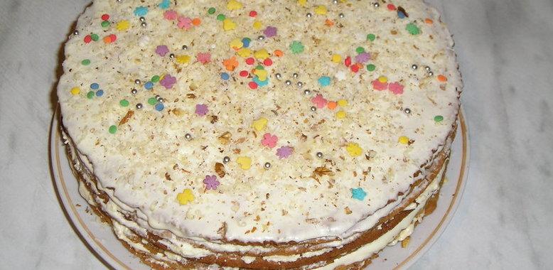 Рецепт медового торта с пошаговым фото