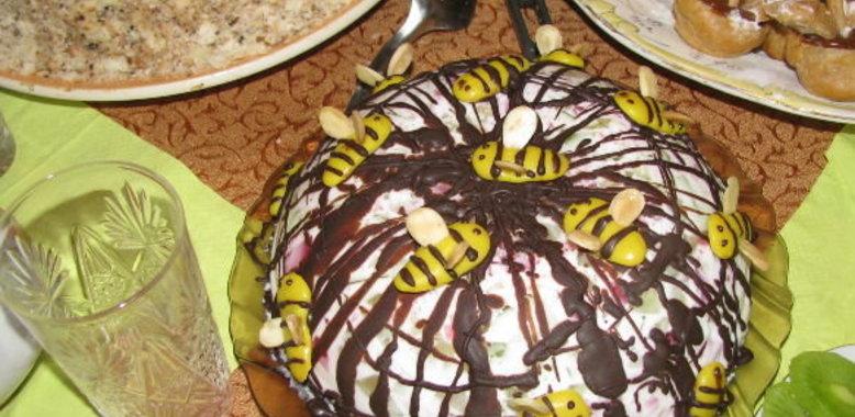 Торт желе сметанное рецепт пошагово