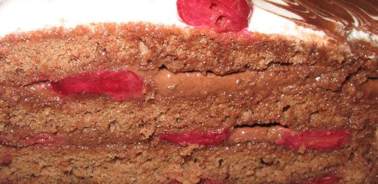 Торт панчо с вишней в домашних условиях пошагово
