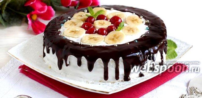 Рецепты фруктовых тортов с фото пошагово в домашних условиях
