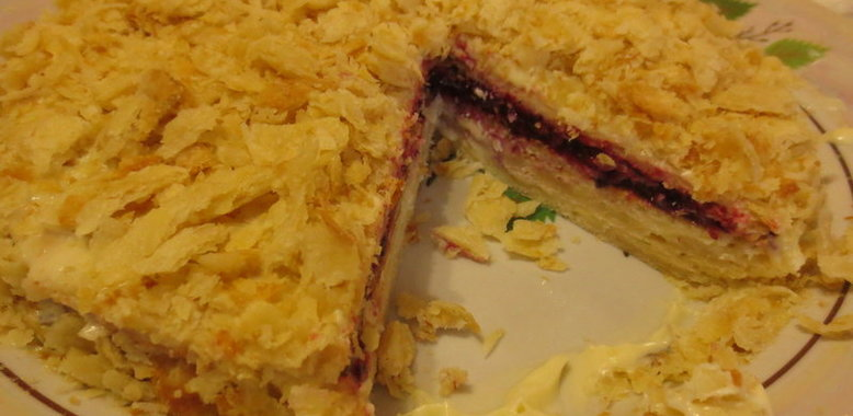 Торт наполеон рецепт с пошагово от бабушки
