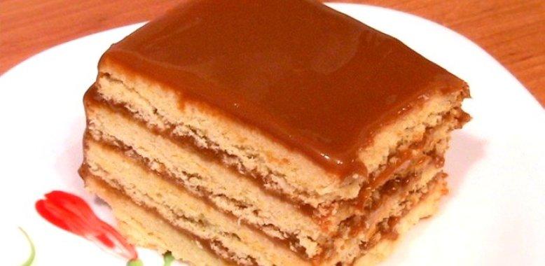 Торт из теста песочного рецепт с пошагово в