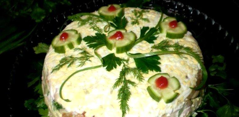 Новые рецепты с пошаговым фото салаты