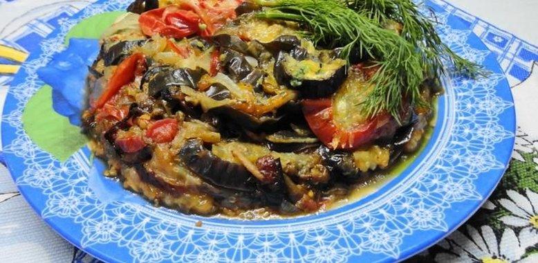 Тушёные баклажаны рецепт с пошагово