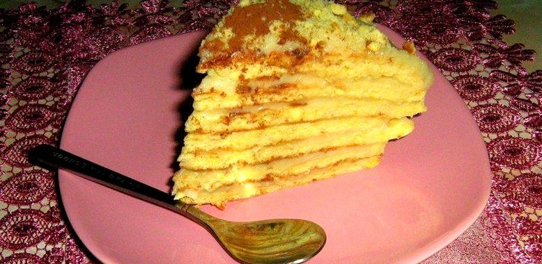 Простые рецепты тортов на сковородке