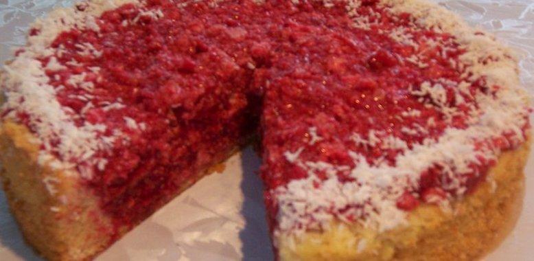 Малиновый пирог рецепт с фото пошагово в духовке