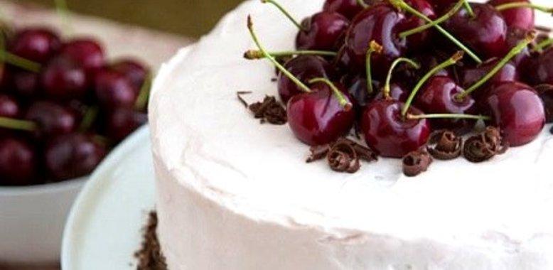 Черешневый торт с фото