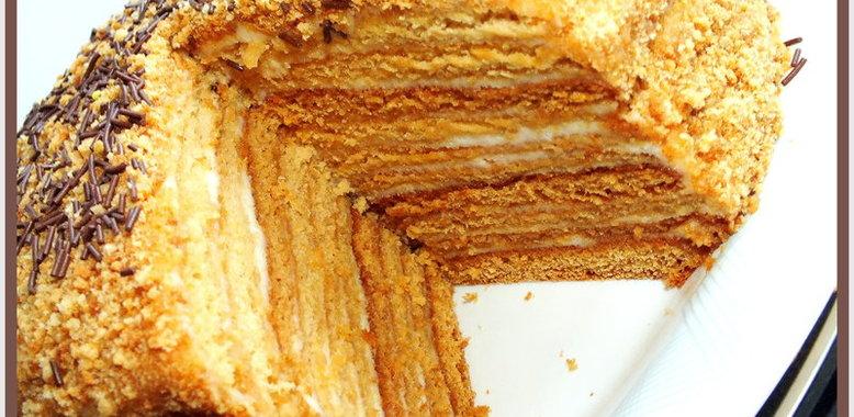 Торт рыжик рецепт с пошаговым фото