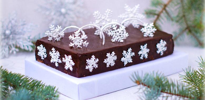 Как можно украсить новогодний торт с рецептами и с фото