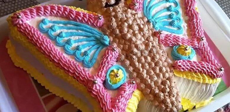 торт бабочка рецепты с фотографиями