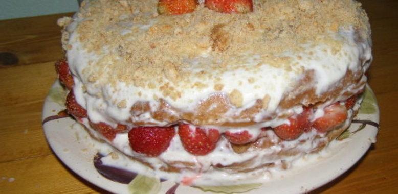Простой домашний торт рецепт с фото