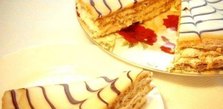Несложный домашний торт рецепт пошагово