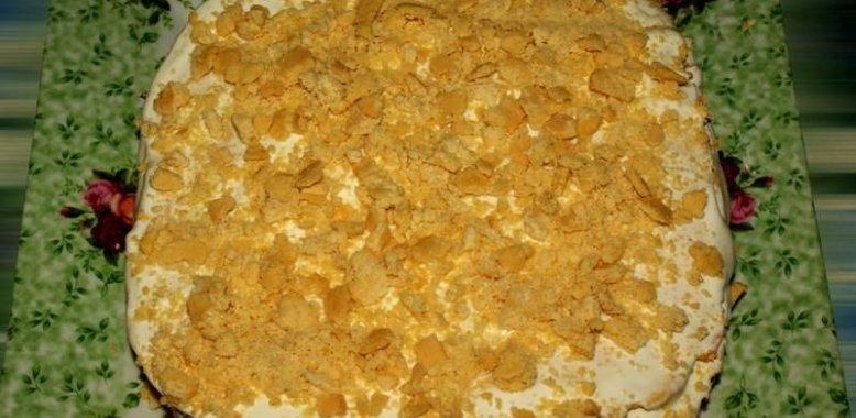Торт рыжик рецепт крем сметанный пошаговый рецепт