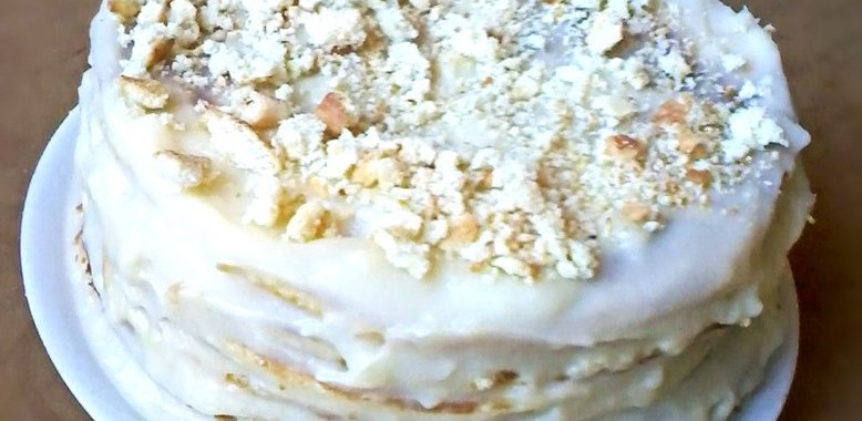 рецепт ванильного торта с фото
