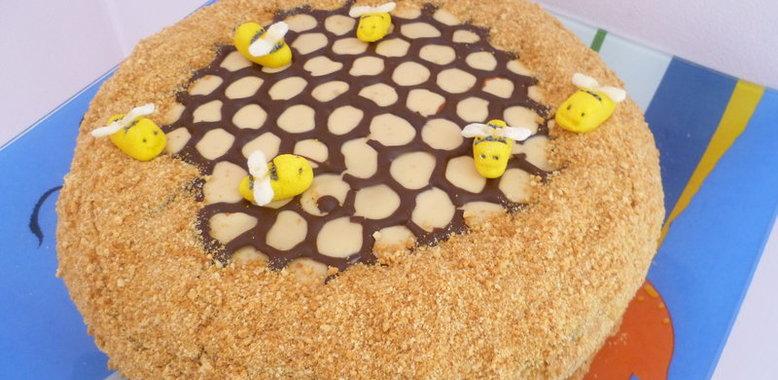 Торт без яиц с фото