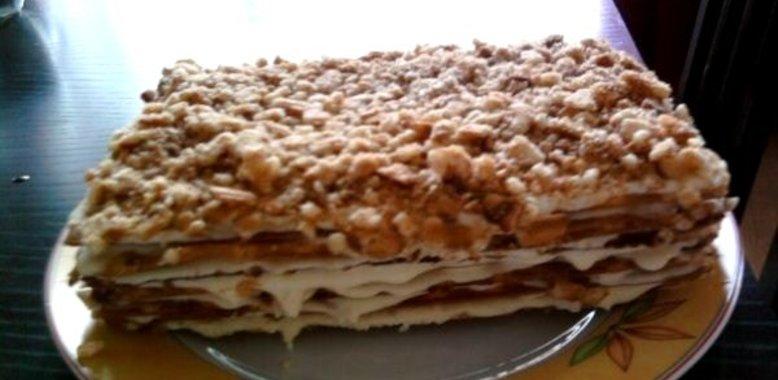 Торты из вафельных коржей рецепты с пошагово