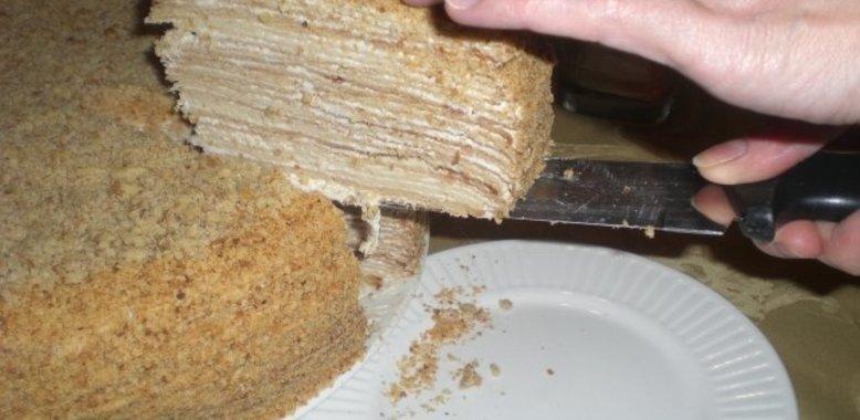 Наполеон медовый рецепт с фото