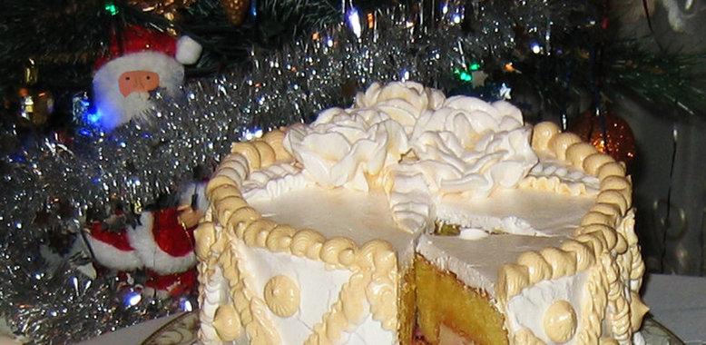 Рецепт торта на рождество