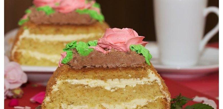 Торт сказка рецепт пошагово в домашних