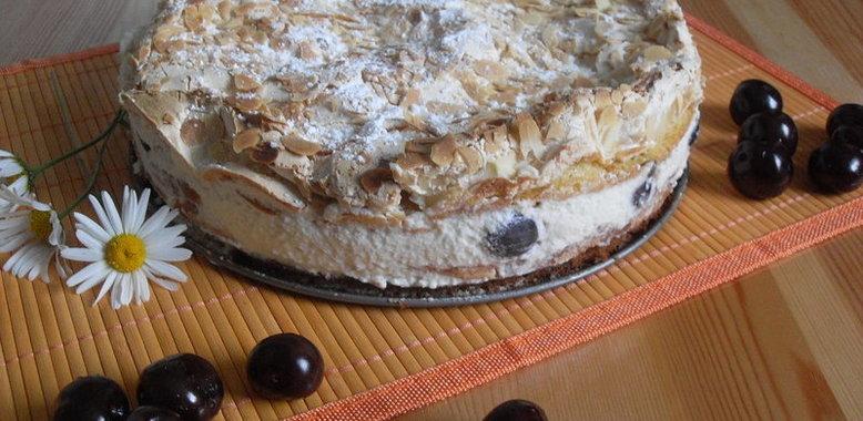 Торт безе рецепт с фото пошагово с безе