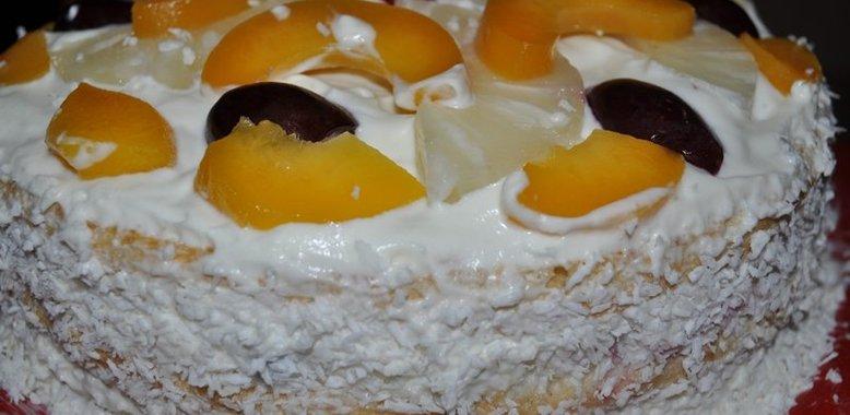 Вкусные фруктовые торты рецепты с фото
