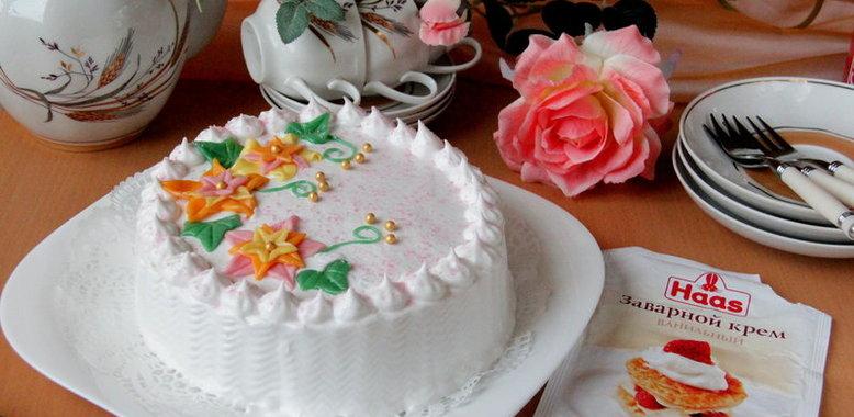 Быстрый тортик с пошаговыми фото