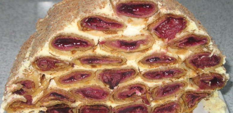Торт фантазия рецепт с фото на кефире